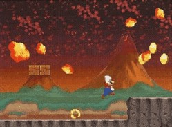screenshot from new super mario brothers