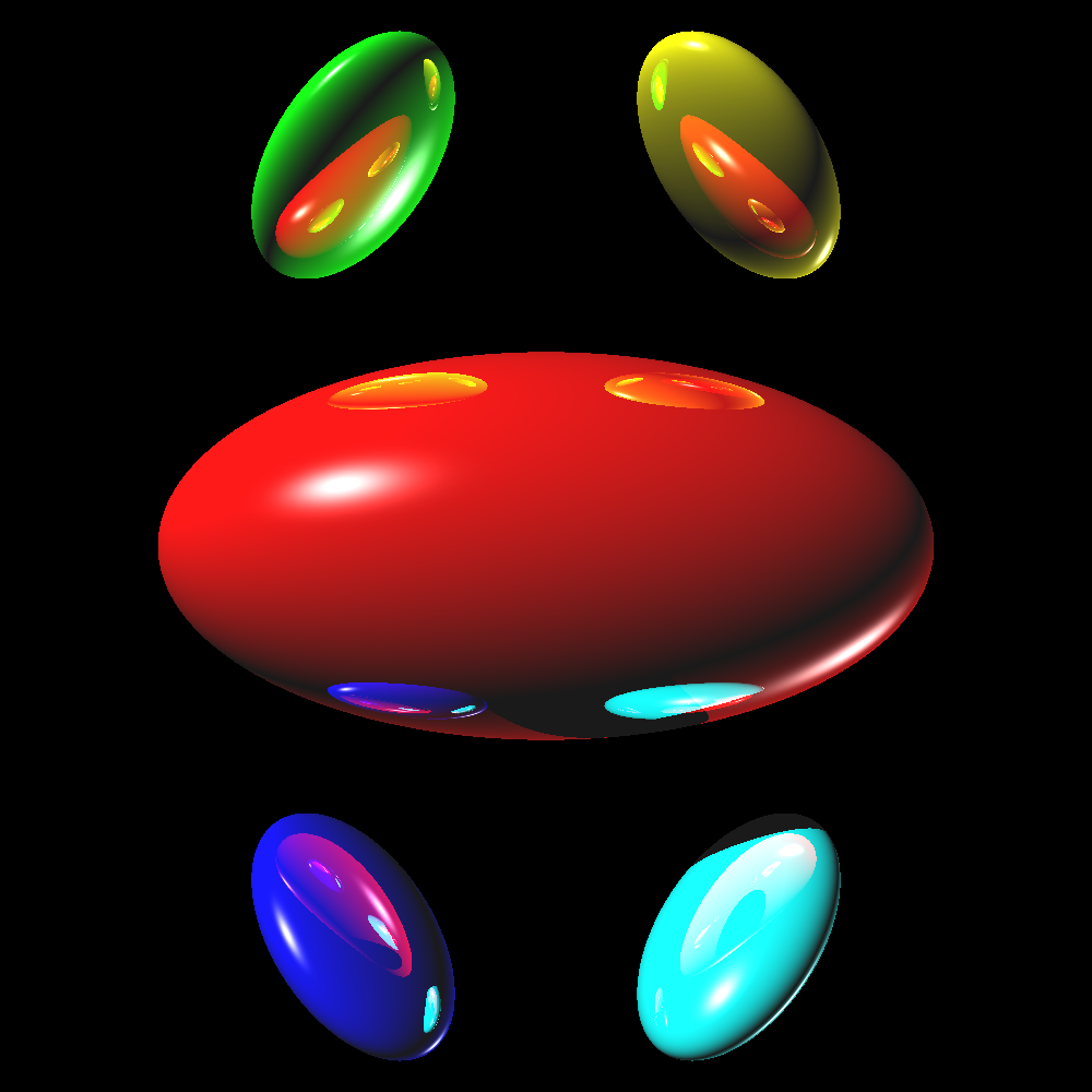 raytraced ellipsoids
